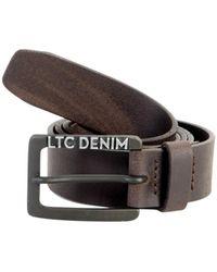 Le Temps Des Cerises - Belt The Time Of Cherries Trotter Brown Women's Belt In Brown - Lyst