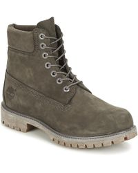 """Timberland - Icon 6"""" Premium Boot Men's Shoes (trainers) In Multicolour - Lyst"""