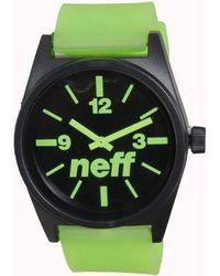 Neff - Daily Watch - Black / Green Men's In Green - Lyst
