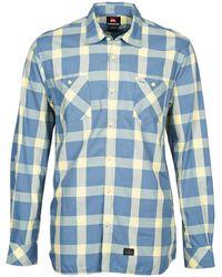Quiksilver - Ramos Men's Long Sleeved Shirt In Blue - Lyst