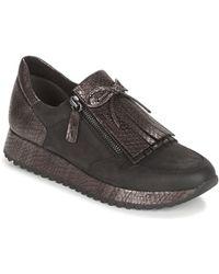 Tamaris - Diva Women's Shoes (trainers) In Black - Lyst