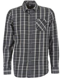 Volcom - Gaines Men's Long Sleeved Shirt In Grey - Lyst