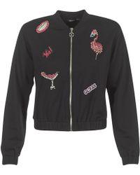 Guess - Propuc Women's Sweatshirt In Black - Lyst