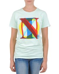 Nixon - Pacific Women's T Shirt In Green - Lyst