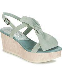 Hispanitas - Corfu Women's Sandals In Green - Lyst