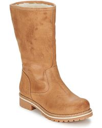 Casual Attitude - Faraen Women's High Boots In Brown - Lyst