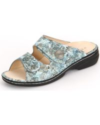 Finn Comfort - Sansibar Aqua Zamo Women's Mules / Casual Shoes In Grey - Lyst