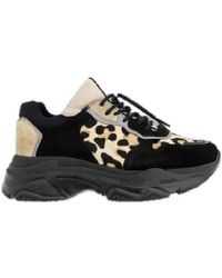 a6105b12742 Bronx - Basket Femme Baisley-66167-CN-3023 et femmes Chaussures en Noir