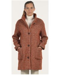 Mat De Misaine - Fjord Women's Coat In Red - Lyst