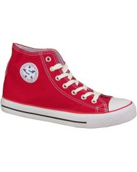 Smith's - 1043rd Women's Shoes (high-top Trainers) In Red - Lyst