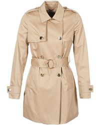 Guess - Estella Women's Trench Coat In Beige - Lyst