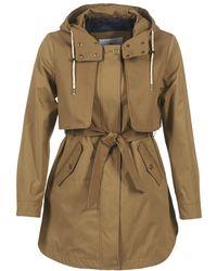 Loreak Mendian - Euritako Women's Trench Coat In Brown - Lyst