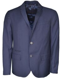 Pour Exchange Hommes Homme En Blazer Bleu Marine Veste gb6yYfv7