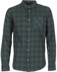 Rip Curl - Check Shirt Men's Long Sleeved Shirt In Grey - Lyst