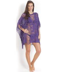 Pain De Sucre - , Swimsuit Cover-up, Purple - Elise Women's Tunic Dress In Green - Lyst