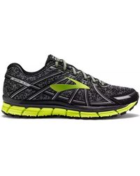 Brooks - Adrenaline Gts 17 Men's Running Trainers In Black - Lyst