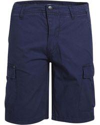 Minimum - FABRICE hommes Short en bleu - Lyst