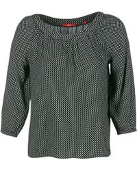 S.oliver - Ijiboulo Women's Blouse In Black - Lyst