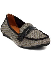 Bernie Mev - Bernie Mew Penny Loafer Bronze Women's Loafers / Casual Shoes In Multicolour - Lyst