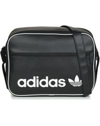 adidas - Airliner Vint Men s Messenger Bag In Black - Lyst a5c394e06d