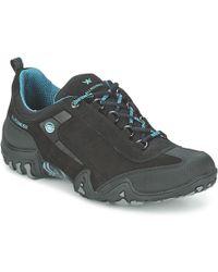 Allrounder By Mephisto - Fina Tek Women's Walking Boots In Grey - Lyst