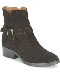 Esprit - Imma Bootie Women's Mid Boots In Brown - Lyst