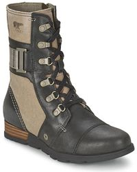 Sorel - Major Carly Women's Mid Boots In Brown - Lyst