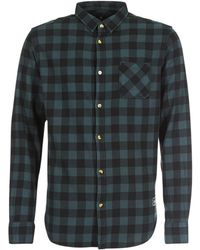 Rip Curl - Check It Ls Shirt Men's Long Sleeved Shirt In Grey - Lyst
