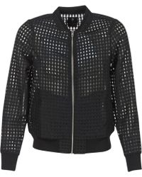 Volcom - Gmj Sheer Jkt Women's Jacket In Black - Lyst