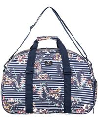 Roxy - Feel Happy 35l - Petate Deportivo De Tama Women's Travel Bag In Blue - Lyst