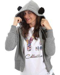 Y Not? - ? Y17ai053 Sweatshirt Women Grey Women's Jumper In Grey - Lyst