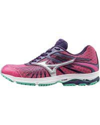 Mizuno - Wave Sayonara 4 Women's Shoes (trainers) In Purple - Lyst