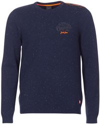 Jack & Jones - Jortrast Men's Sweater In Blue - Lyst