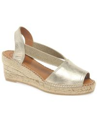 9b5bb6d3da Toni Pons - Teide P Womens Wedge Heel Espadrilles Women's Espadrilles /  Casual Shoes In Gold
