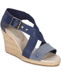 G-Star RAW - Aria Salon Women's Sandals In Blue - Lyst