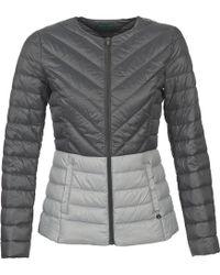 Benetton - Fouli Women's Jacket In Grey - Lyst