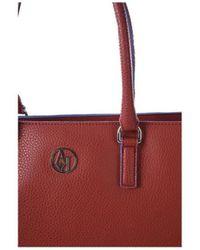 Armani Jeans - ARMANI - Sac A Main Rouge - Femme femmes Sac à main en rouge - Lyst