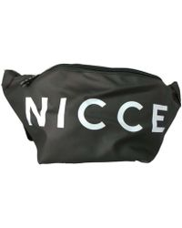 a8466df70c0d3 Ted Baker · Nicce London - Zero Large Core Bumbag Men s Hip Bag In Black -  Lyst