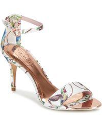 Ted Baker - Mavbe Women's Sandals In White - Lyst