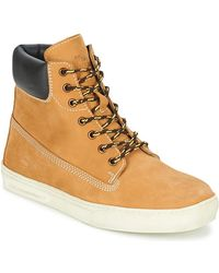 Lumberjack - Try Men's Mid Boots In Beige - Lyst