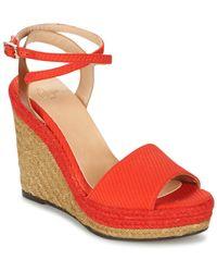 Castaner - Adela Women's Sandals In Red - Lyst