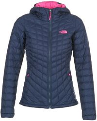 The North Face - Thermoball Hoodie Jacket Women's Jacket In Blue - Lyst