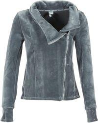 Bench - Her.biker Funel Women's Sweatshirt In Grey - Lyst