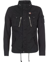 Schott Nyc - Squad Men's Jacket In Black - Lyst