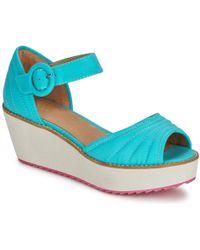 Shellys London - Kulich Women's Sandals In Blue - Lyst