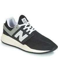 New Balance Ml574 Shoes (trainers) in Black for Men Lyst