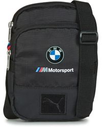 PUMA Bmw M Msp Portable Women s Shoulder Bag In Black in Black for ... dfdafdc493f5e