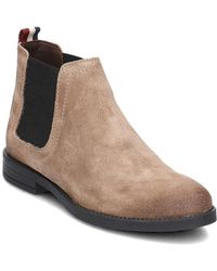 Tommy Hilfiger - Getty 1b Women\u0027s Low Ankle Boots In Brown - Lyst