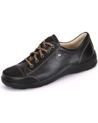 Finn Comfort - Soho Nappaseda Women's Casual Shoes In Black - Lyst