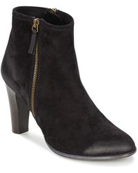NDC - Trisha Sonia Women's Low Ankle Boots In Black - Lyst